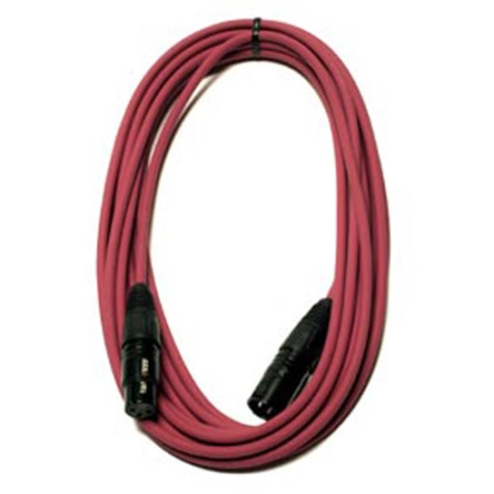 Peavey 20' Low Z Mic Cable - Red 00495740