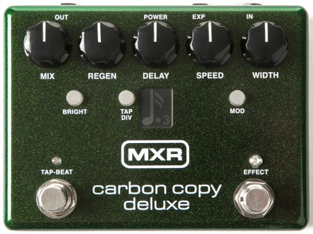 MXR Carbon Copy Deluxe Analog Delay M292 with Tap Tempo