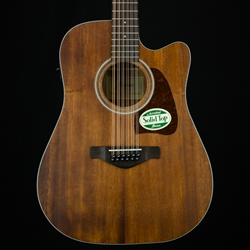 Ibanez Dreadnought 12 String - Cutaway & pickup AW5412CEOPN