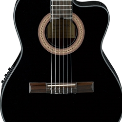 Ibanez Thin Body Acoustic-electric Classical GA35CEBKN
