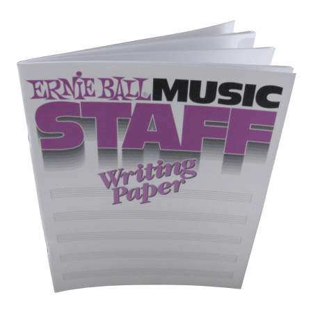 Music Staff Writing Paper