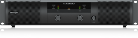 Behringer Ultra-Lightweight 3000-Watt Class-D Power Amplifier NX3000