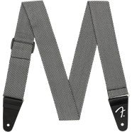 "Fender Modern Tweed Strap, White/Black 2"" 0991446406"