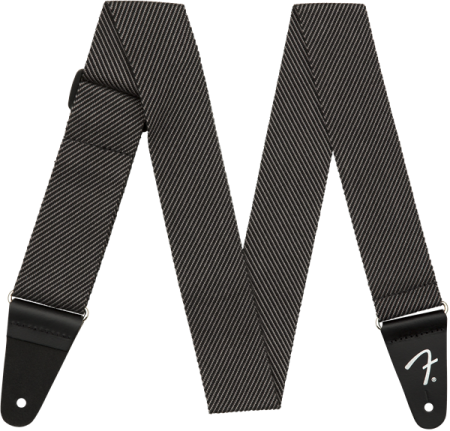 "Fender Modern Tweed Strap Gray/Black 2"" 0991447406"