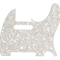 Fender Pickguard, Telecaster®, 8-Hole Mount, Aged White Pearl, 4-Ply 0992174000