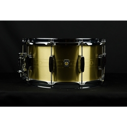 "Ludwig 7"" x 14"" Heirloom Brass Snare Drum LBR0714"