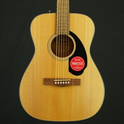 Fender CC-60S Concert Acoustic Guitar, Natural, Walnut Fretboard 0970150021