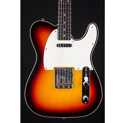 Fender Custom Shop Limited Edition Vintage Custom 1959 Tele Custom Journeyman Relic Chocolate 3 Tone 9235000766