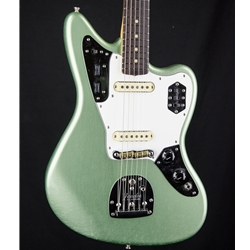 Fender Custom Shop LTD '64 Jaguar Lush Closet Classic Electric in Sage Green Metallic 9231010183