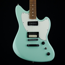 Fender Alternate Reality Powercaster Electric Guitar, Pau Ferro, Surf Green 0143523357