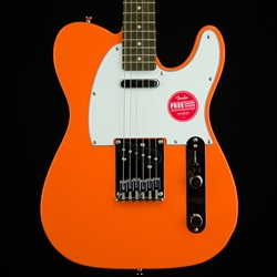 Fender Squier Affinity Series Telecaster Guitar - Laurel Fingerboard, Competition Orange 0370200596