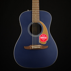 Fender Malibu Player Acoustic Guitar, Pickup, Midnight Satin 0970722050