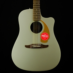 Fender Redondo Player Acoustic Guitar, Pickup, Slate Satin 0970713543