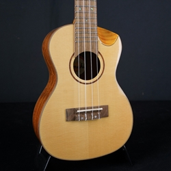 Amahi Solid Spruce Top, Walnut Back & Sides  Concert Ukulele AM800G-C