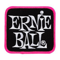 Ernie Ball Colors of Rock n' Roll Patch - Pink P04192