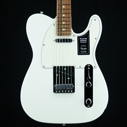 Fender Player Telecaster Electric Guitar, Pau Ferro Fingerboard, Polar White 0145213515