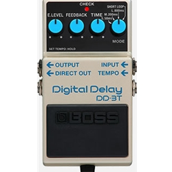 Enhanced Boss DD3 Delay Pedal DD3T