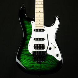 Jackson X Series Signature Adrian Smith SDXQ, Maple Fingerboard, Transparent Green  2913052587