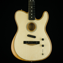 Fender American Acoustasonic Telecaster, Ebony Fingerboard, Natural Finish 0972013221
