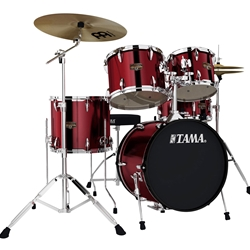Tama IE52CVBG Limited Edition 5-Piece Kit with Cymbals & Throne (Vintage Burgundy) (VBG)