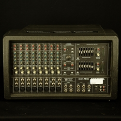 AS-IS Mackie 808 Powered Mixer, CH2 Dead, Noisie Controls ISS17452