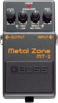 Boss MT-2 Metal Zone Pedal MT2