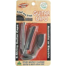 Harris 6 String Guitar Capo HF6C