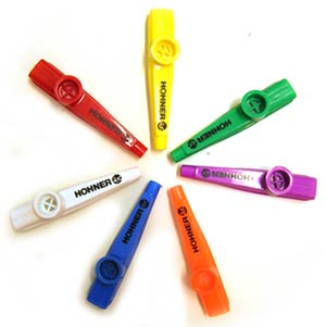 Hohner Plastic Mulit-Colored Kazoo KC50