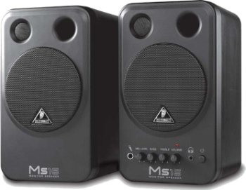Behringer MS-16 Monitor Speakers (pair) MS16