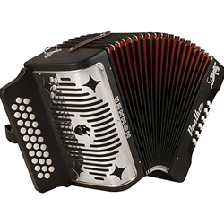 Hohner 3100GB Panther Diatonic Button Accordion HA3100GB