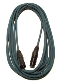 Peavey 20' Low  Z mic cable - Dark Teal 49566
