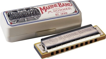 Hohner Marine Band Harmonica (available in several keys) 1896