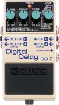 Boss DD-7 Digital Delay Pedal DD7