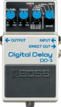 Boss DD-3 Digital Delay Pedal DD3