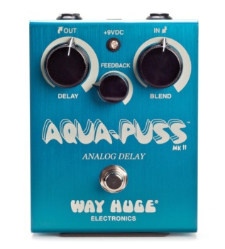 Way Huge Aqua-Puss MKII Analog Delay Pedal WHE701